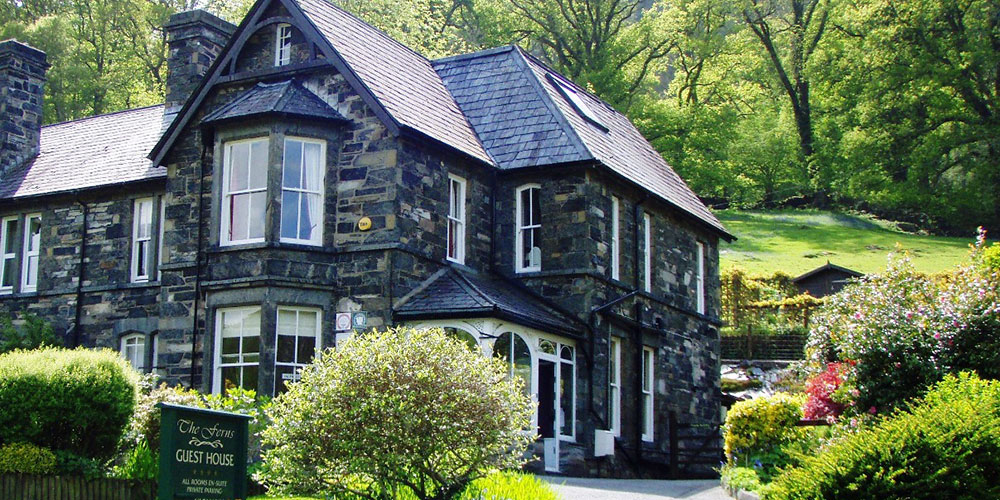 The Ferns Guesthouse, a character Bed and Breakfast in Betws y Coed Snowdonia