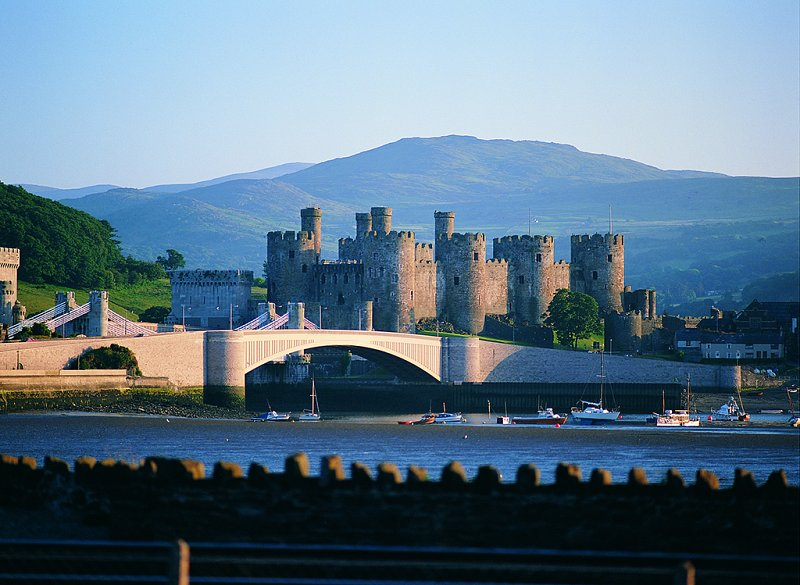 Photo of Conwy Castle - one of the many in Snowdonia