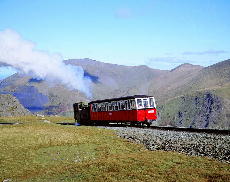 Photo of Snowdon Mountain Railway - by Steam